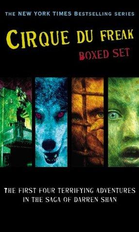Cirque Du Freak Boxed Set #1 (Cirque Du Freak, #1-4)
