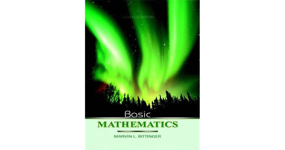 Amazon. Com: basic mathematics plus mymathlab (10th edition.
