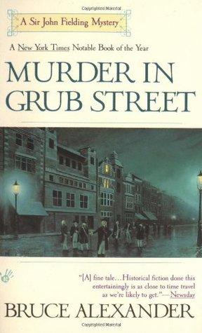 Murder in Grub Street (Sir John Fielding, #2)