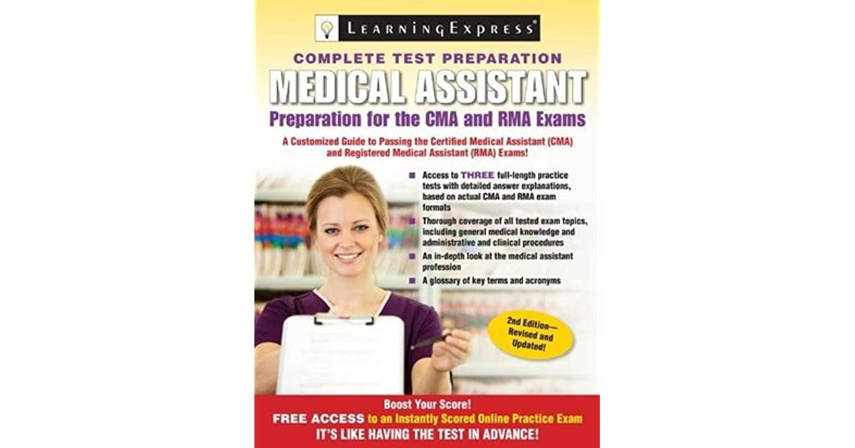 Medical Assistant Exam: Preparation for the CMA and RMA Exams by LLC ...