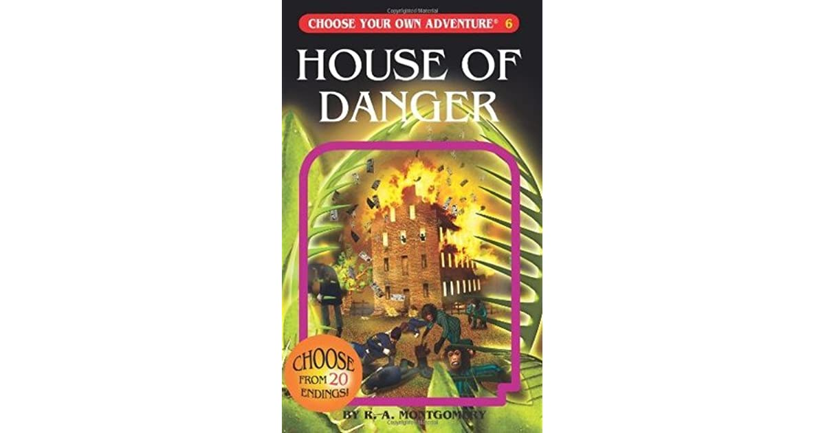 House of Danger by R A  Montgomery