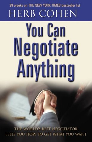 you can negotiate anything by herb cohen pdf free download