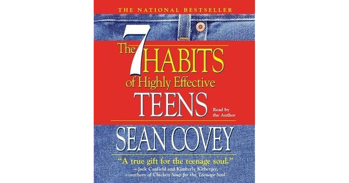 Effective teen highly sean covey habit