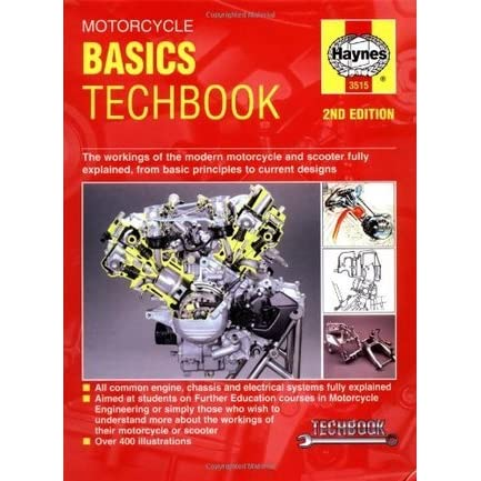 motorcycle basics techbook 2nd edition