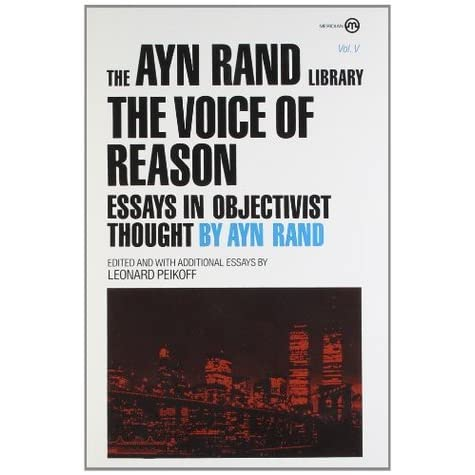 ayn rand essay scholarship Essay contests for more than thirty we encourage new scholarship on rand's thought the ayn rand institute makes that happen every day.