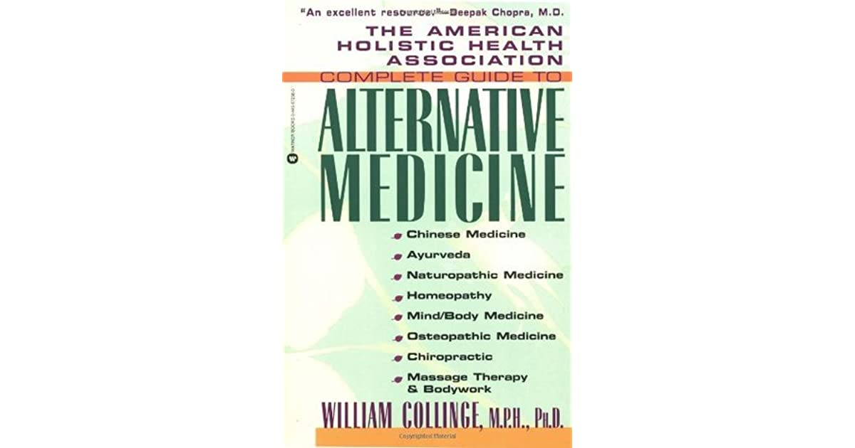 The American Holistic Health Association Complete Guide to