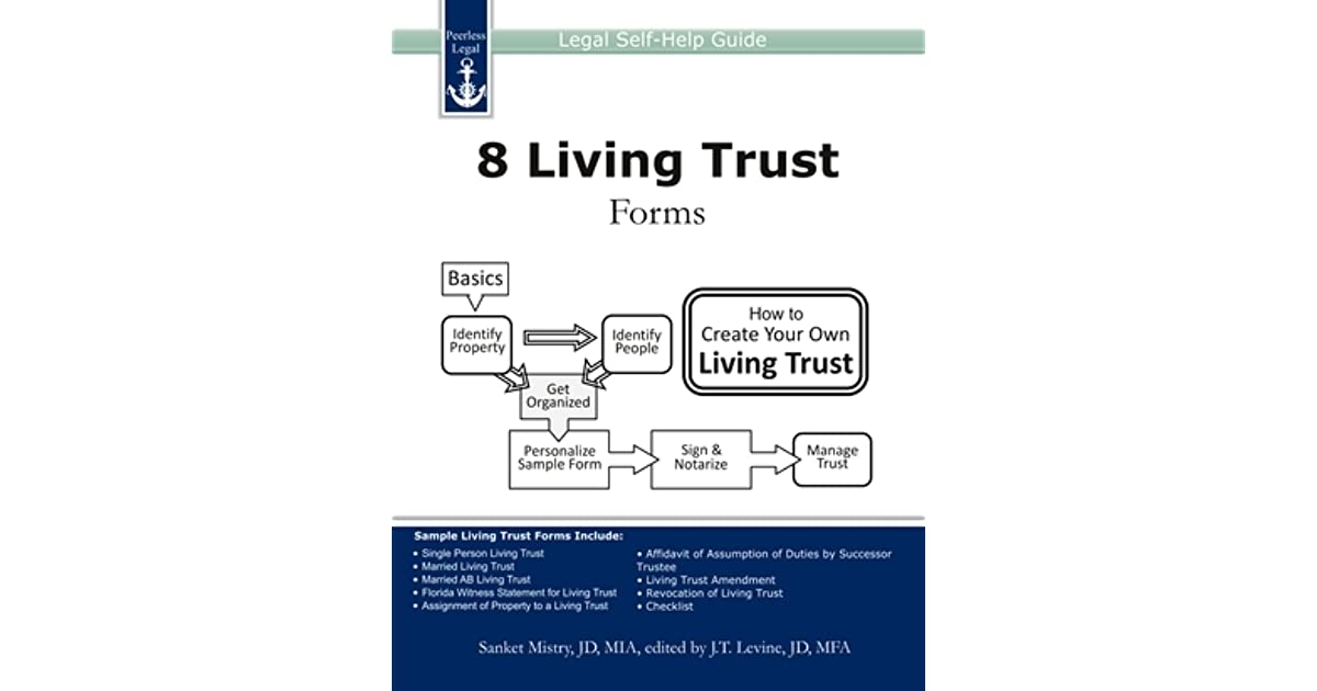 Living Trust Forms Legal SelfHelp Guide By Sanket Mistry