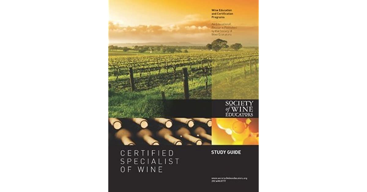 certified specialist of wine review