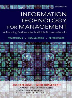 Information Technology for Management Advancing Sustainable, Profitable Business Growth