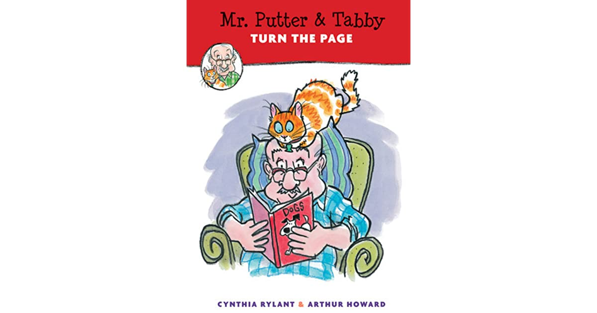 Mr Putter Tabby Turn The Page By Cynthia Rylant