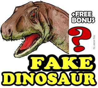 Fake Dinosaurs: A Kids' Learn to Read Book with Amazing Facts and Large Photos (Free Bonus: 30+ Free Online Kids' Jigsaw Puzzle Games!) (Kids Exploration)