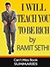 Book Summary: I Will Teach You To Be Rich