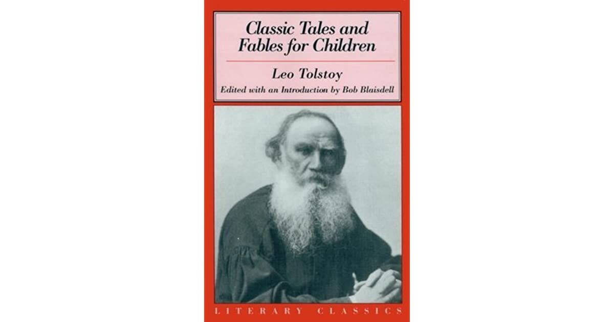 Is it really Is this a poem for the children of Leo Nikolayevich Tolstoy