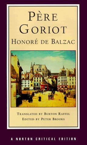 Père Goriot by Honoré de Balzac