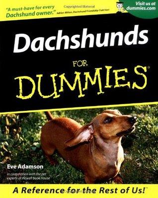 Om Dachshunds For Dummies