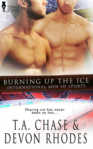 Burning Up the Ice by T.A. Chase
