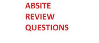 ABSITE Review Questions Oncology