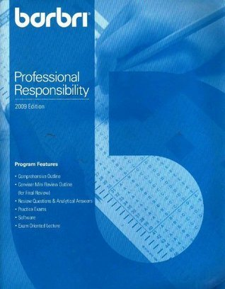 Barbri Bar Review Multistate Professional Responsibility Examination