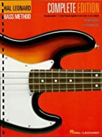 Hal Leonard Electric Bass Method - Complete Edition: Contains Books 1, 2, and 3 in One Easy-to-Use Volume (Hal Leonard Bass Method)