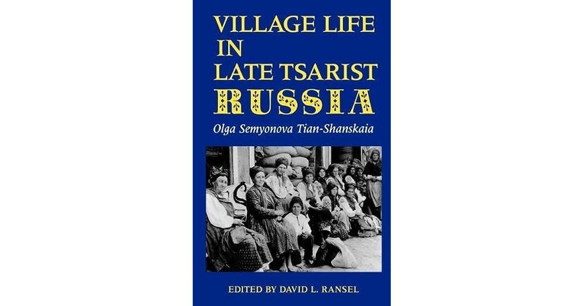olga semyonovas discovery of peasantry life essay