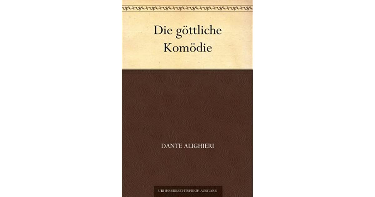 Dante Gottliche Komodie Ebook