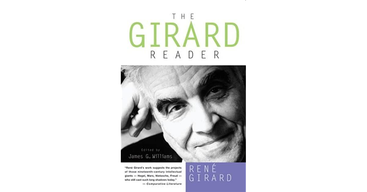 21926b15c7a The Girard Reader by René Girard