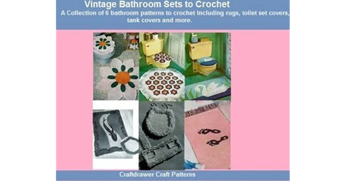 Admirable Vintage Bathroom Sets To Crochet A Collection Of 6 Customarchery Wood Chair Design Ideas Customarcherynet