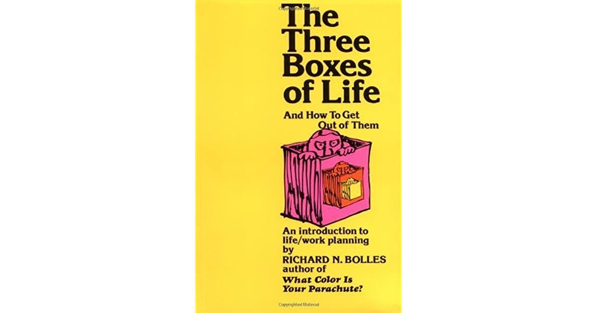 The three boxes of life and how to get out of them an introduction the three boxes of life and how to get out of them an introduction to lifework planning by richard nelson bolles fandeluxe Image collections