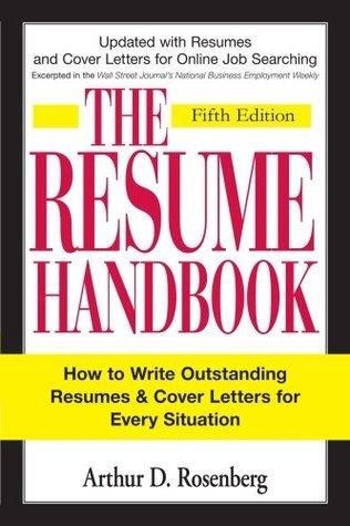 the resume handbook