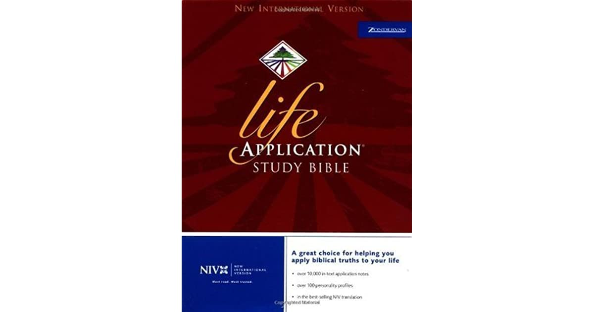 Life Application Study Bible: NIV by Anonymous