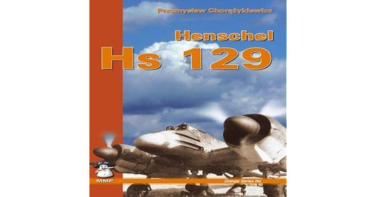 henschel hs 129 orange series band 8110