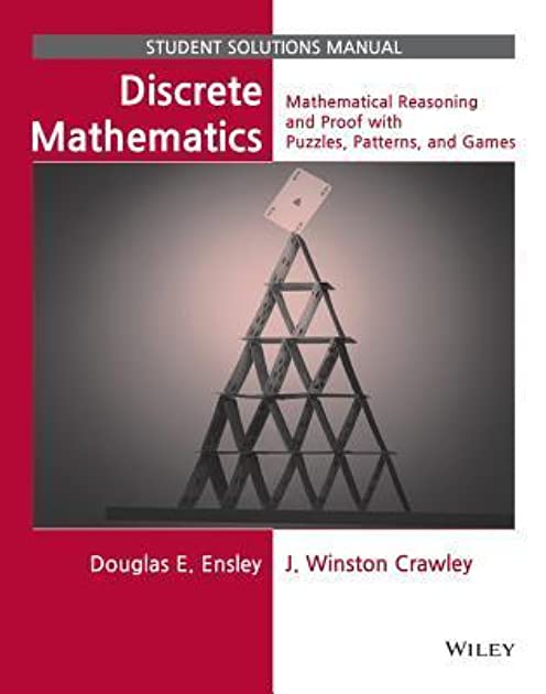 discrete mathematics student solutions manual mathematical rh goodreads com Kenneth Rosen Discrete Mathematics Solutions Discrete Mathematics Rosen 7th Solutions