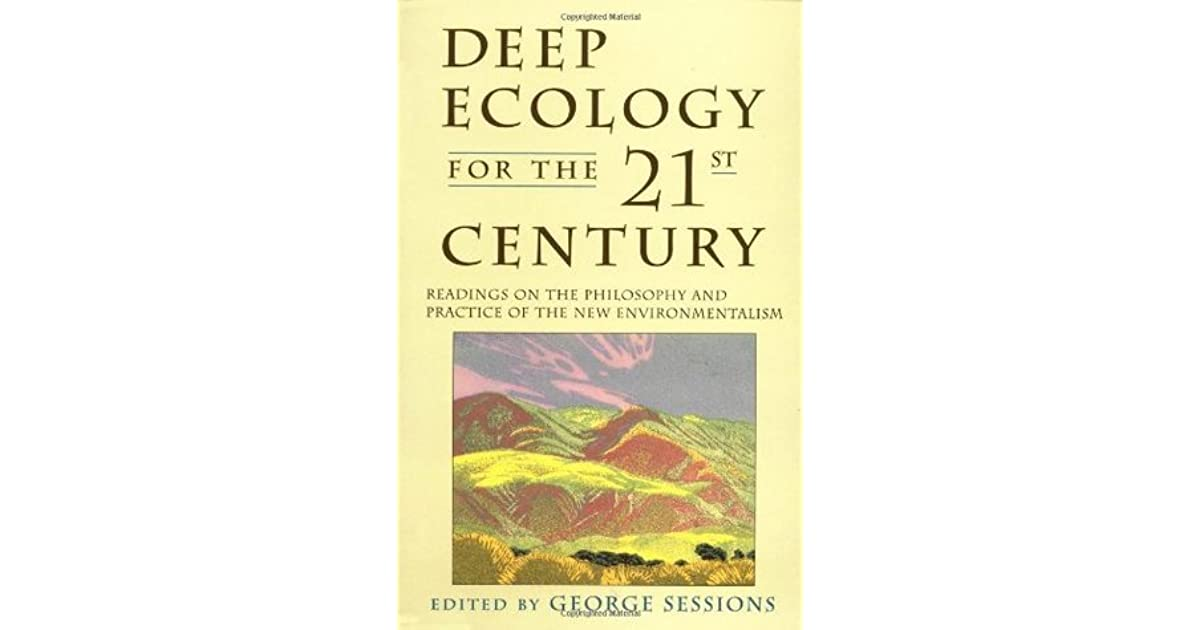 deep ecology living as if nature mattered