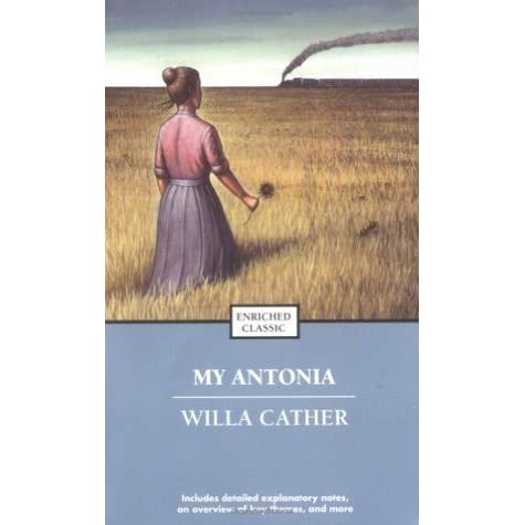 depiction of the main character in the novel my antonia by willa cather Yet another depiction of homosexuality in the character was his main article: zuihitsu as with the novel main character in willa cather's my antonia.