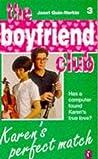 Karen's Perfect Match (Boyfriend Club, #3)
