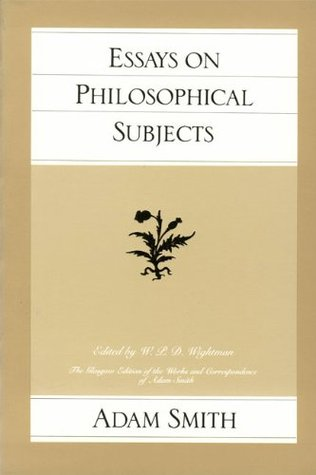 Essays on Philosophical Subjects (Works & Correspondence)