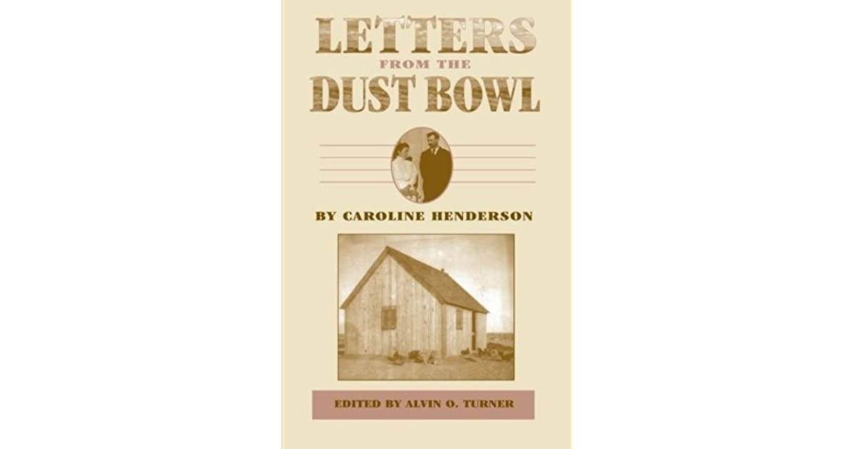 Letters From The Dust Bowl By Caroline Henderson