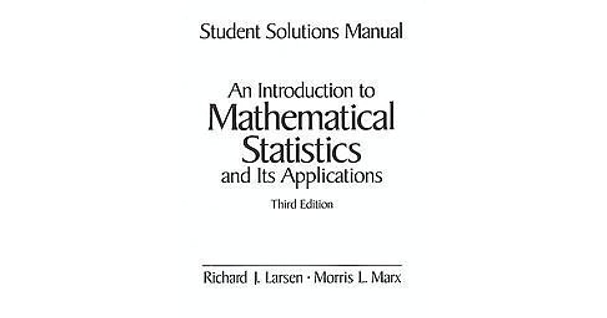 Student Solutions Manual An Introduction To Mathematical