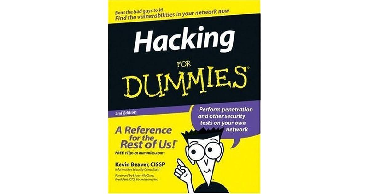 Hacking For Dummies English 4th Edition Pdf