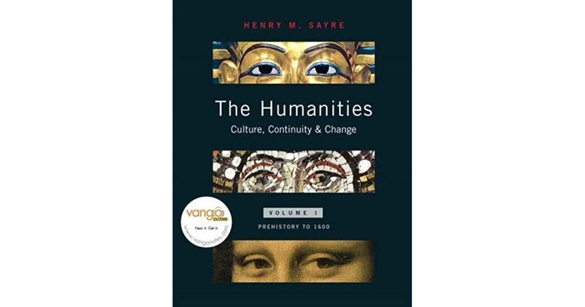 sayre the humanities book 5 Find nearly any book by henry m sayre get the best deal by comparing prices from over 100,000 booksellers.
