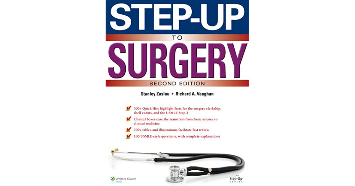 Step-Up to Surgery by Stanley Zaslau