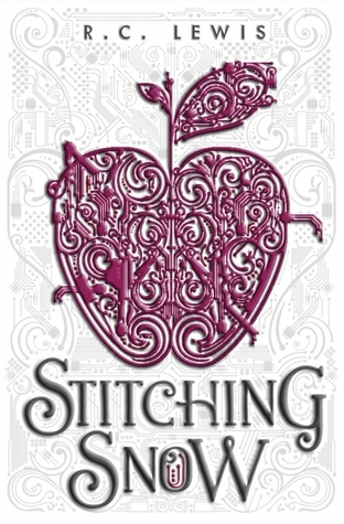 """Book cover of """"Stitching Snow"""" by R.C. Lewis"""