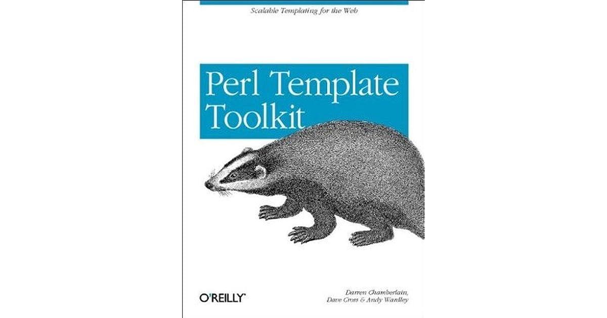 Perl Template Toolkit by Darren Chamberlain
