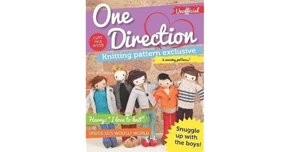One Direction Knitting Pattern Exclusive By Carol Meldrum