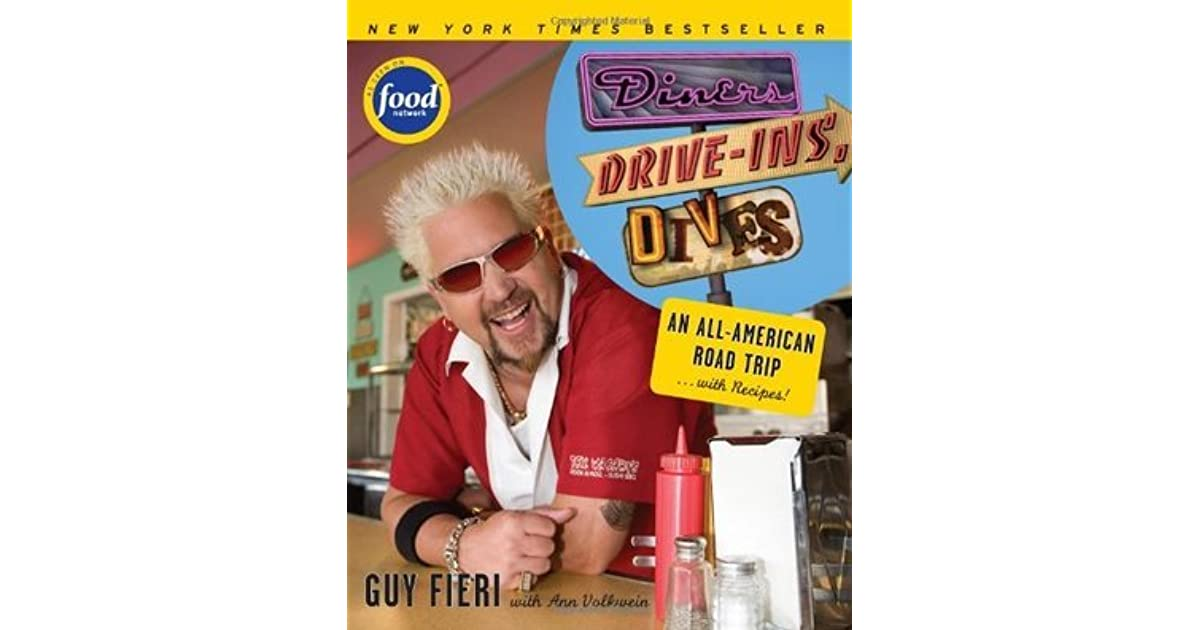 Diners Drive Ins And Dives Road Map on