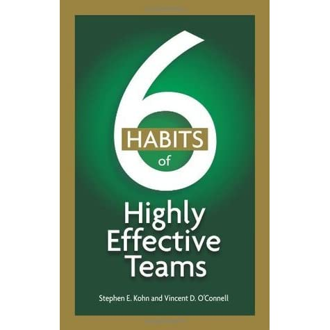 six habits of highly effective teams