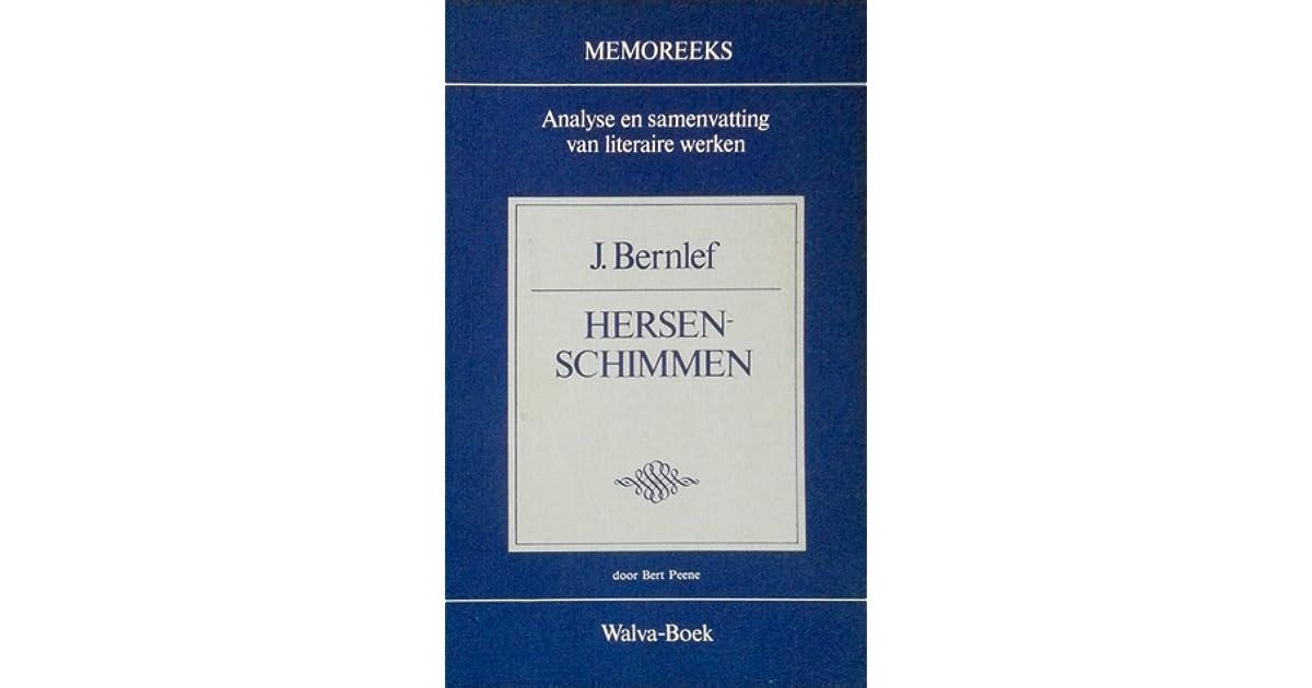 Memoreeks J Bernlef Hersenschimmen By Bert Peene 5 Star