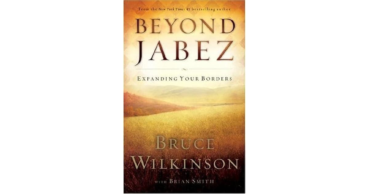 BEYOND JABEZ BRUCE WILKINSON PDF