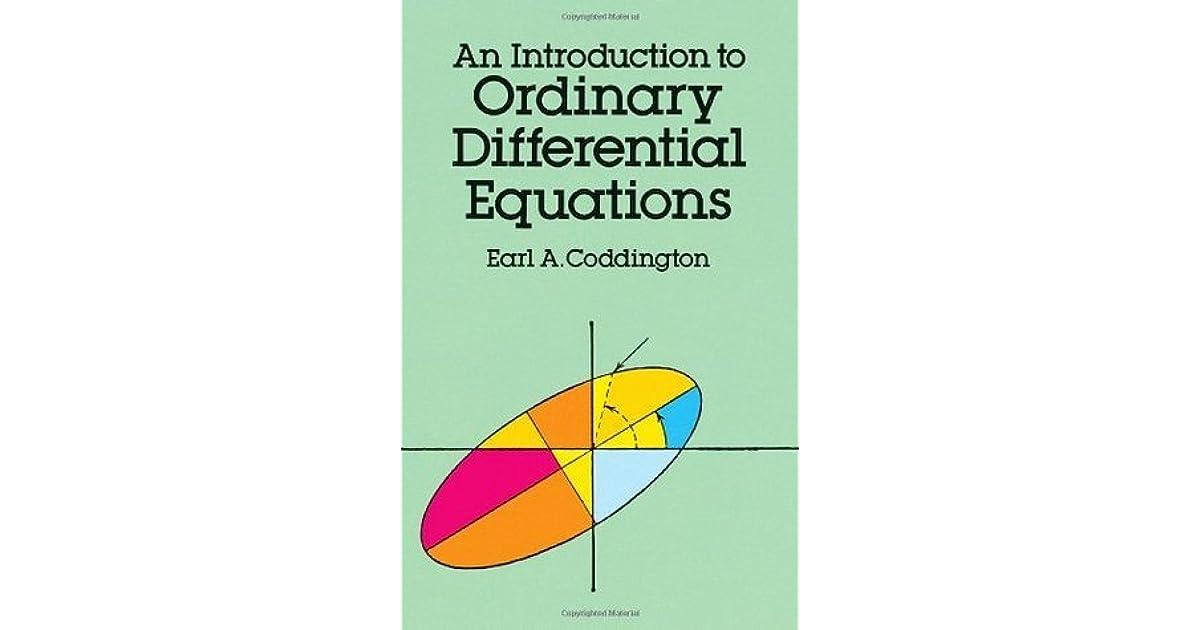Theory Of Ordinary Differential Equations Coddington Pdf