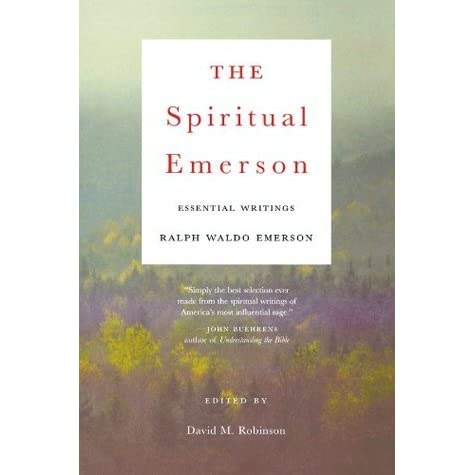 emersons essay on nature Self reliance and other essays study guide contains a ralph waldo emerson first published nature in 1836 the essay served as one of the founding.
